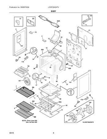 Diagram for LGGF3043KFV