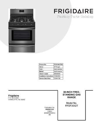 Diagram for FFGF3052TDA
