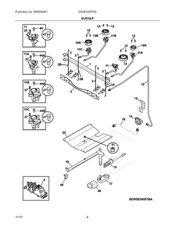 Diagram for CRGE3455TSA