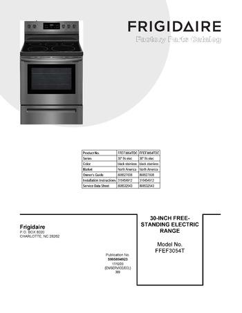 Diagram for FFEF3054TDC