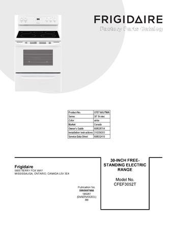 Diagram for CFEF3052TWA