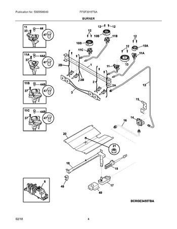 Diagram for FFGF3016TSA