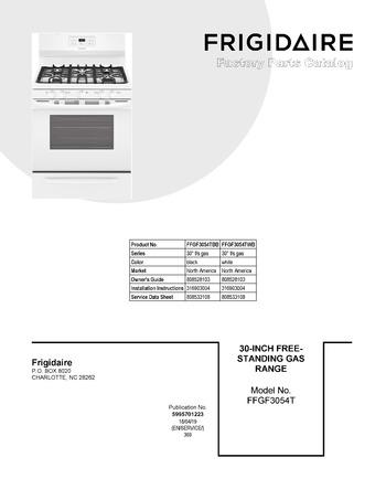 Diagram for FFGF3054TWB