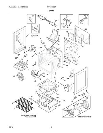 Diagram for FGGF3036TBB