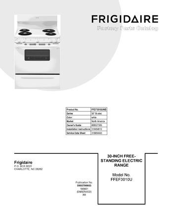 Diagram for FFEF3010UWB
