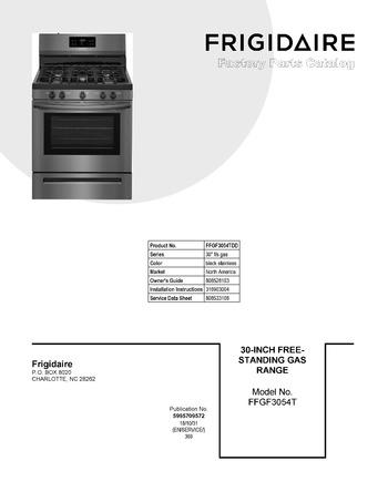 Diagram for FFGF3054TDD