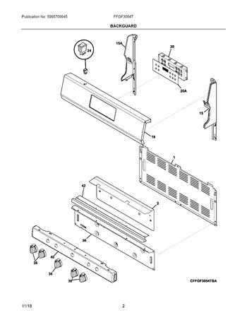 Diagram for FFGF3054TWD