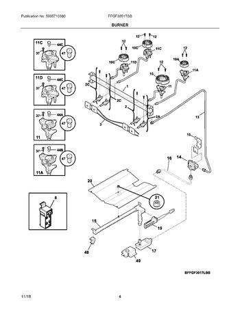 Diagram for FFGF3051TSB