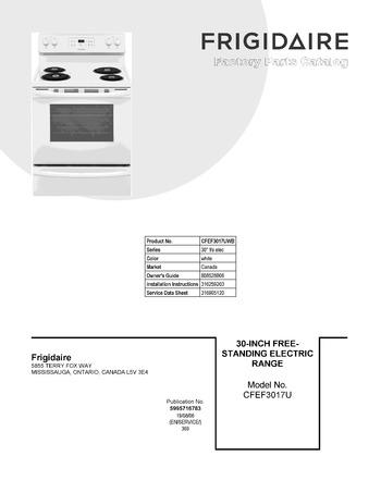 Diagram for CFEF3017UWB