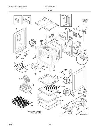 Diagram for CFEF3017UWA
