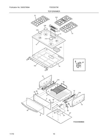 Diagram for FGGS3075KWC