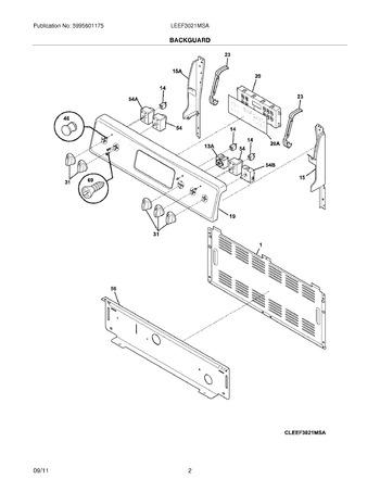 Diagram for LEEF3021MSA