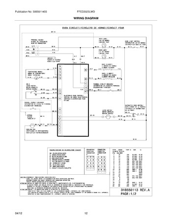 Diagram for FFED3025LWD