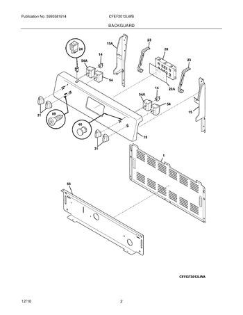 Diagram for CFEF3012LWB