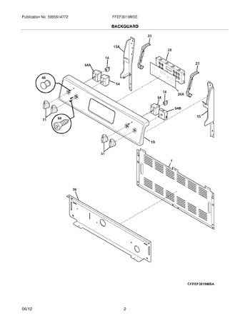 Diagram for FFEF3019MSE