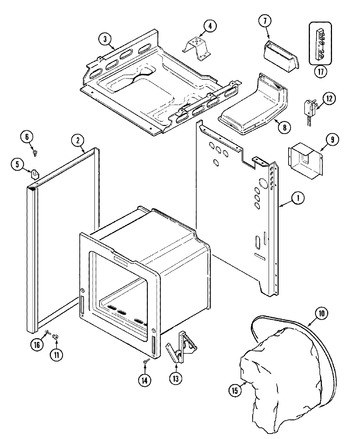 Diagram for GM31211XAW