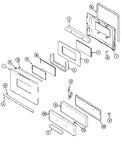 Diagram for 03 - Door/drawer (j31111wax)