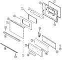 Diagram for 03 - Door/drawer (j31213xax)