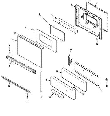Diagram for ALR1420BDW