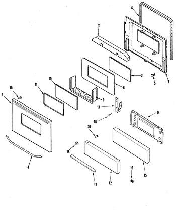 Diagram for MBR1415AGW