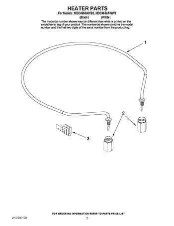 Diagram for MDC4650AWW3