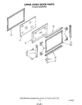 Diagram for SE960PEPW3