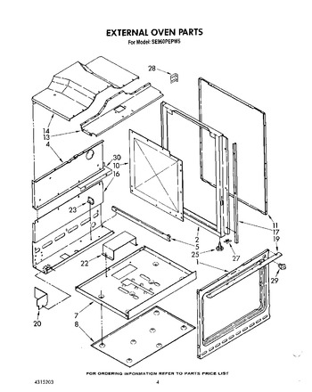 Diagram for SE960PEPW5