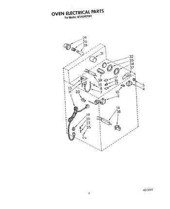 Diagram for SF395PEPW4