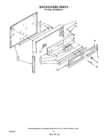 Diagram for SF396PEPW7