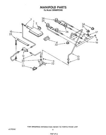 Diagram for SM988PESW0