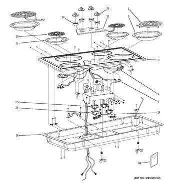 Diagram for JP626WF2WW