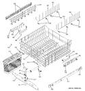 Diagram for 3 - Upper Rack Assembly
