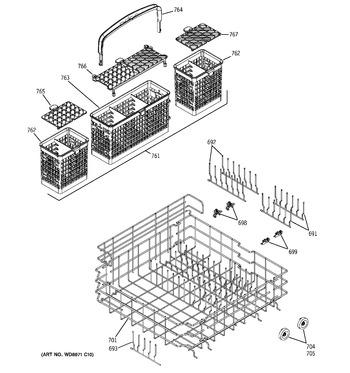 Diagram for PDW7800J15CC