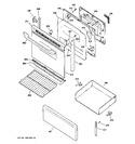 Diagram for 3 - Door & Drawer Parts