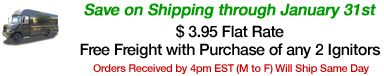 Save on Shipping thru Jan. 31st
