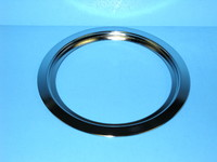 "GE Range / Oven / Stove 6"" Chrome Drip Pan Ring"