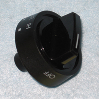 Frigidaire Range / Oven / Stove Black Gas Top Burner Knob