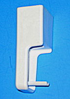 Frigidaire White Handle End Cap for Ranges / Stoves / Ovens